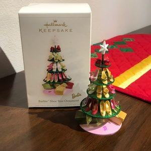 Hallmark Barbie keepsake ornament.